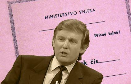 Jak StB sledovala Donalda Trumpa